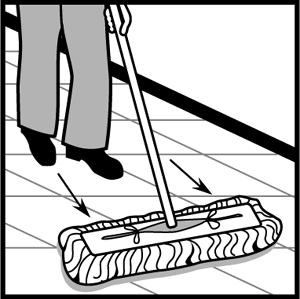 Cleaning concrete floors cleaning procedures for daily for Cleaning concrete dust